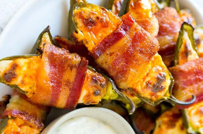 Cheese Bacon Jalapeno Poppers