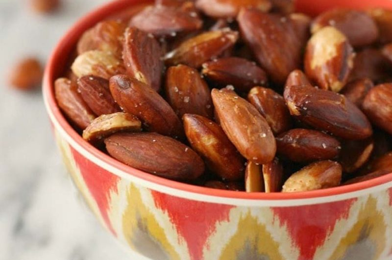 Roast Almonds recipe