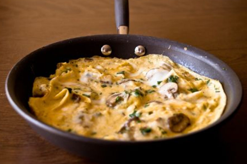 Cheese Dill Mushrooms