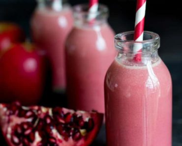 Apple_Elderflower_pomegranate_smoothie