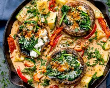 tuscan-style-stuffed-mushrooms-creamy-sun-dried-tomato-sauce