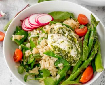 spring-vegetable-risotto-with-creamy-pesto